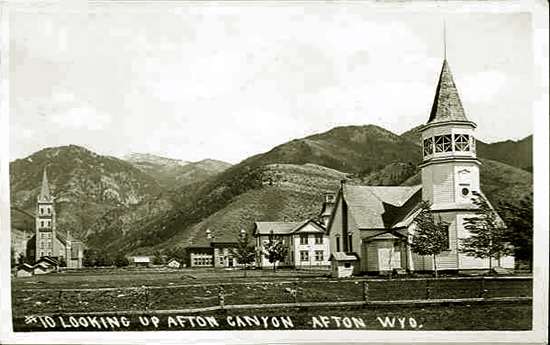 Afton Wyoming Looking Up Canyon Rox 1911