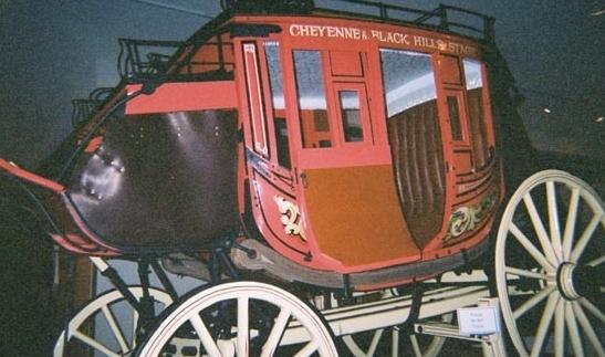 Cheyenne Deadwood Stage