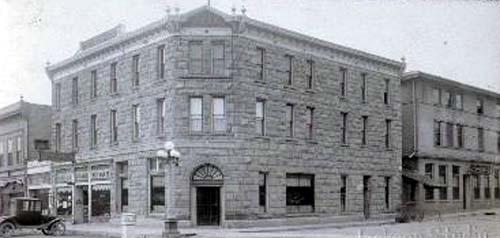Kemmerer Hotel 1923 Photo By Jackson Studios