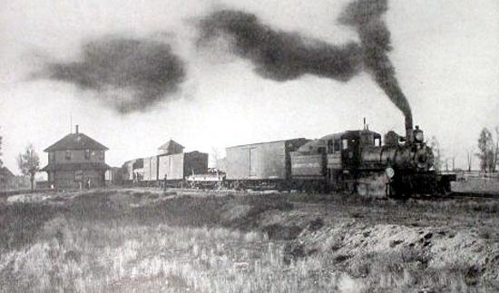 Laramie, Hahn's Peak and Pacific Railroad -- wyoming Tales