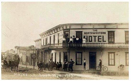 Northwestern Hotel 1909