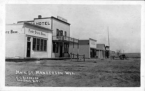 Hotels in manderson wy