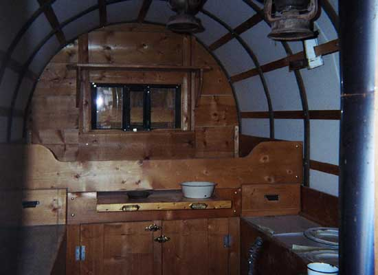 Interior Sheep Wagon, Photo By Geoff Dobson