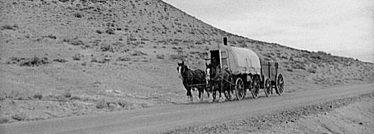 sheep wagon march 1940 photo by a rothstein - Sheep Wagon