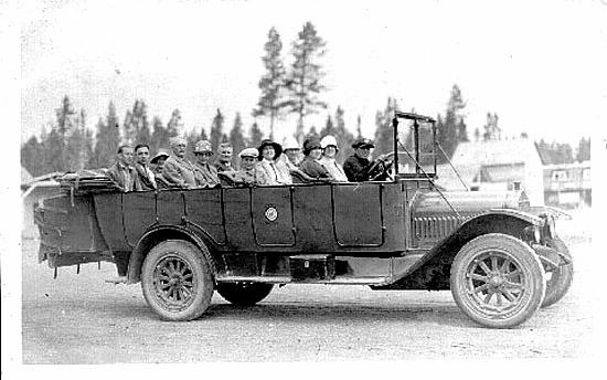 Platte Valley Auto >> Historic Yellowstone Photos -- Roads